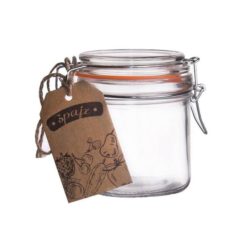 Słoik / pojemnik szklany patentowy BELA 0,28L