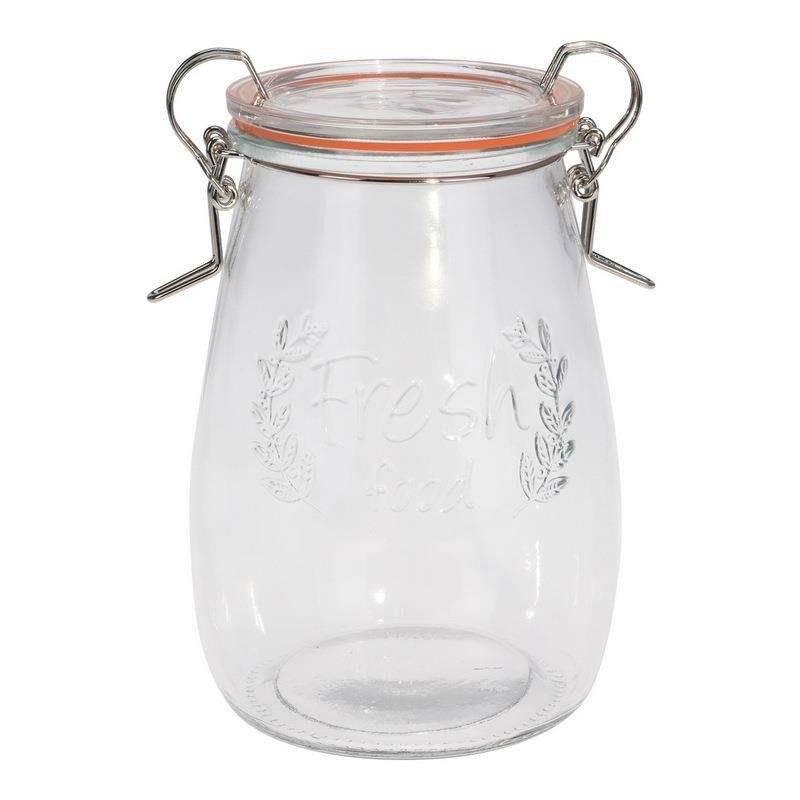 Słoik / pojemnik szklany z uszczelką WECK 725 ml