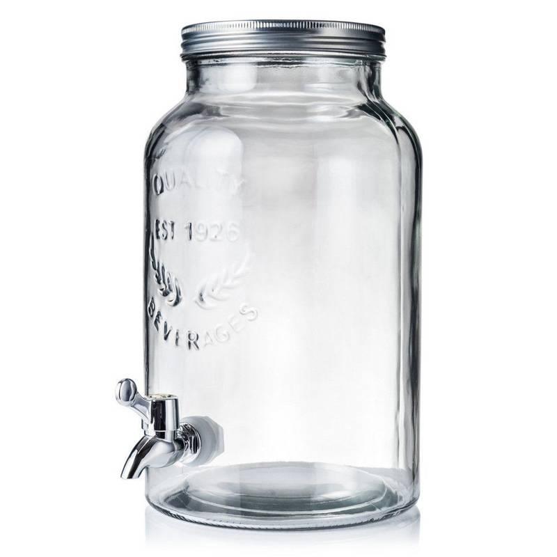 Słój / słoik z kranikiem do napojów lemoniady 5,5L