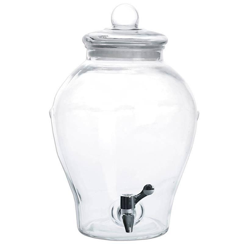 Słój słoik z kranikiem do napojów lemoniady 6,5l