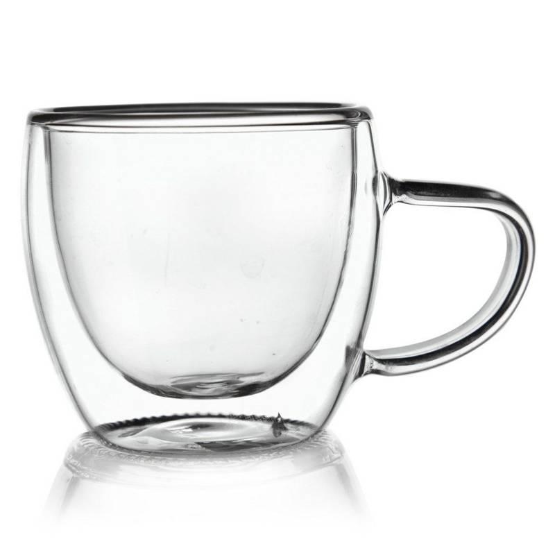 Szklanka termiczna z podwójną ścianką do KAWY 0,1L