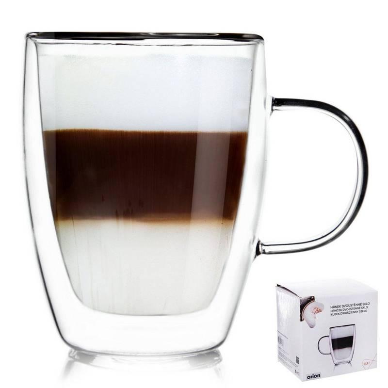 Szklanka termiczna z podwójną ścianką do kawy 0,3 l