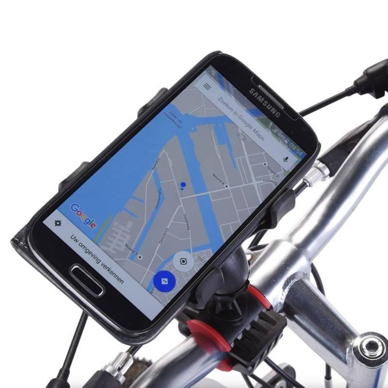 Uchwyt mocujący rowerowy na telefon mocowanie telefonu do roweru