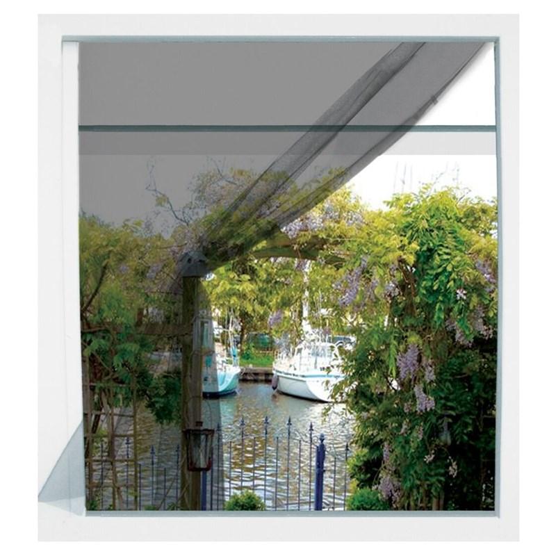 Plasă de țânțari, plasă pentru ferestre, insecte, țânțari, 130x150, negru
