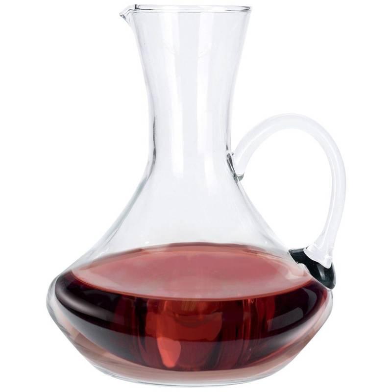 Carafă de sticlă decantor, decantor, sticlă, ulcior de vin 1,5 l