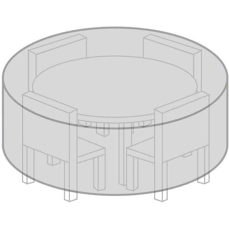 Husă de masă de grădină, rotundă, 170 cm, rezistentă