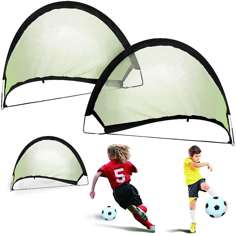 Portar de fotbal, pliabil, pliabil, pliabil, pop-up, 80x60x60 cm, set, set, porți, 2 bucăți