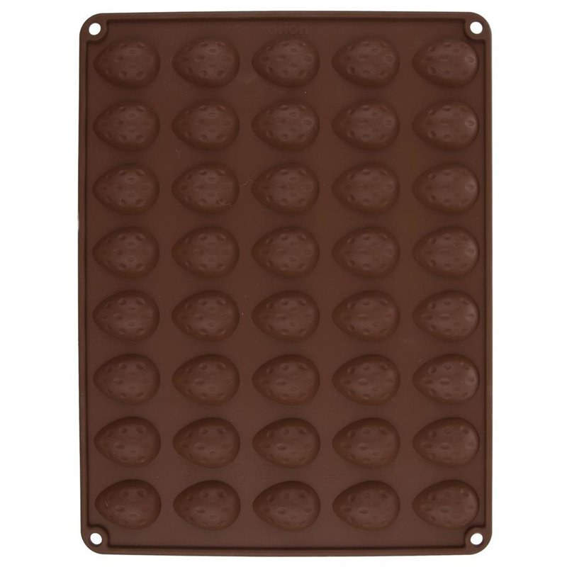 Tavă de copt din silicon pentru biscuiți, alune, nuci, pentru nuci, 40 de bucăți